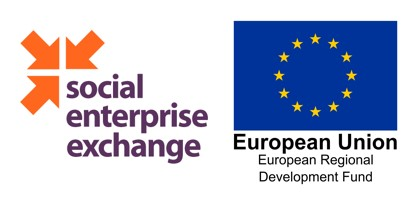 Social Enterprise Exchange and ERDF logos